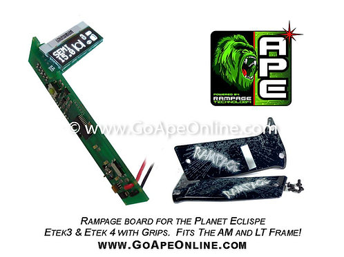 Rampage OLED Board for the Planet Eclipse ETEK w/Grips