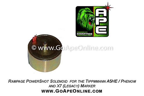 PowerShot Solenoid for the Tippmann X7 / Phenom / A5HE