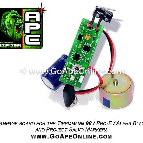 Rampage Board for the Tippmann 98 / Pro-E / Alpha Black