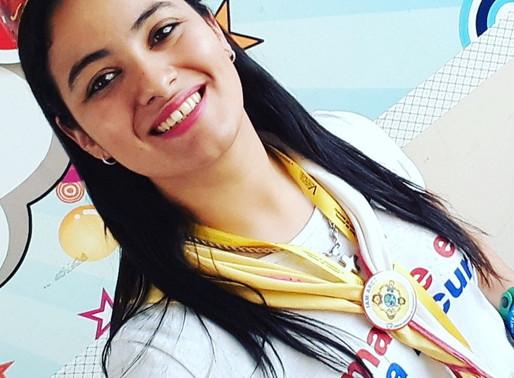 Leonela futura misionera a Cuba