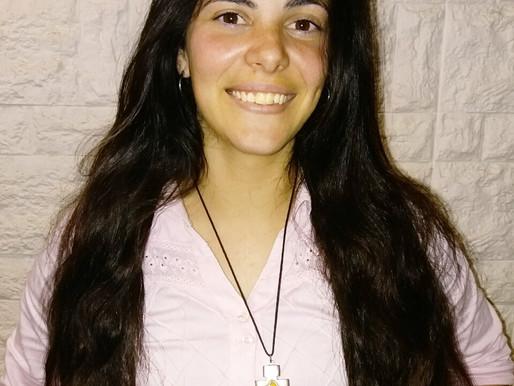 Macarena, futura misionera a Perú