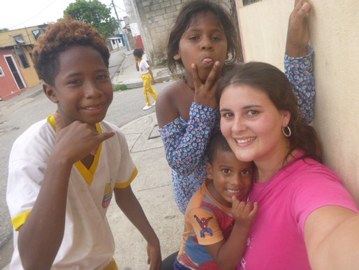 Primeros pasos de Sofía en Ecuador