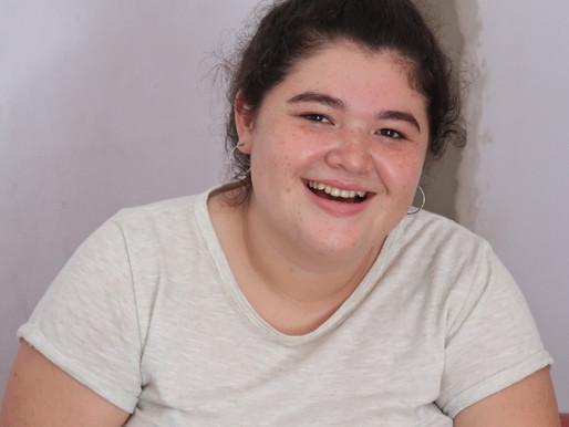 Selene, futura misionera a Uruguay