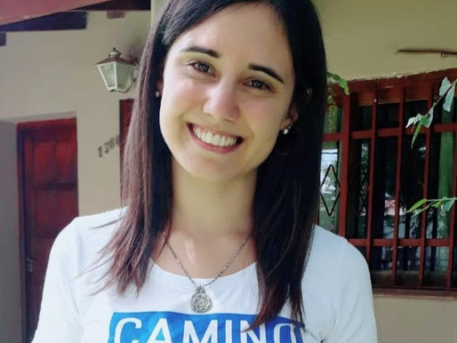 Carolina, futura misionera a Brasil