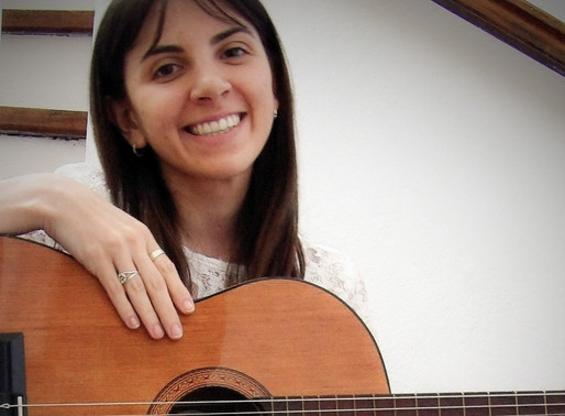 Judit, futura misionera a Brasil