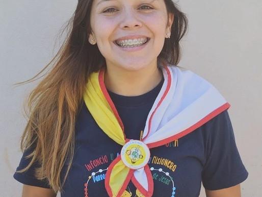 Ludmila, futura misionera a El Salvador