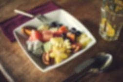 Desa Seni organic fruit salad and restaurant
