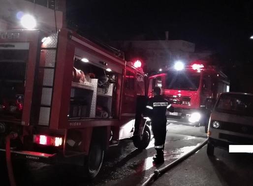 Φωτιά σε σπίτι στο Μενίδι (video)