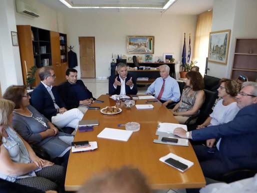 Πατούλης: Προτεραιότητα μας η αντιπλημμυρική θωράκιση της Αττικής
