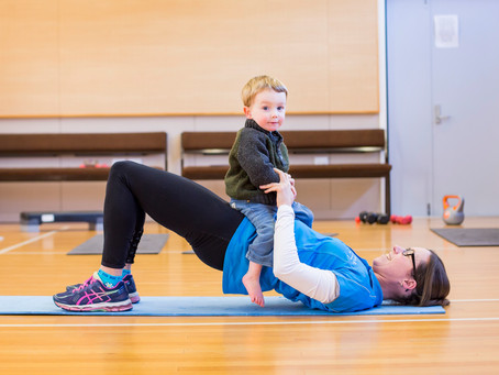 Caren's Postnatal Exercise Style