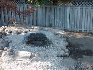 Bubbling Rock in Garden