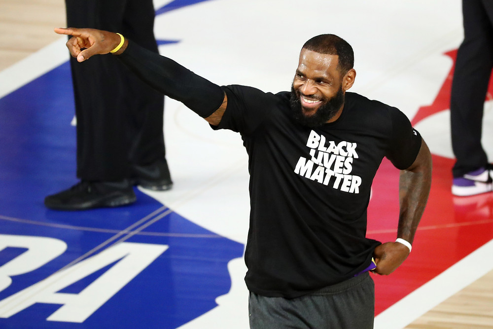 LeBron James Los Angeles Lakers nba around the game