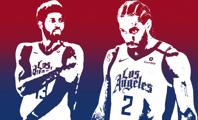 Paul george Kawhi Leonard Los Angeles Clippers nba Around the game