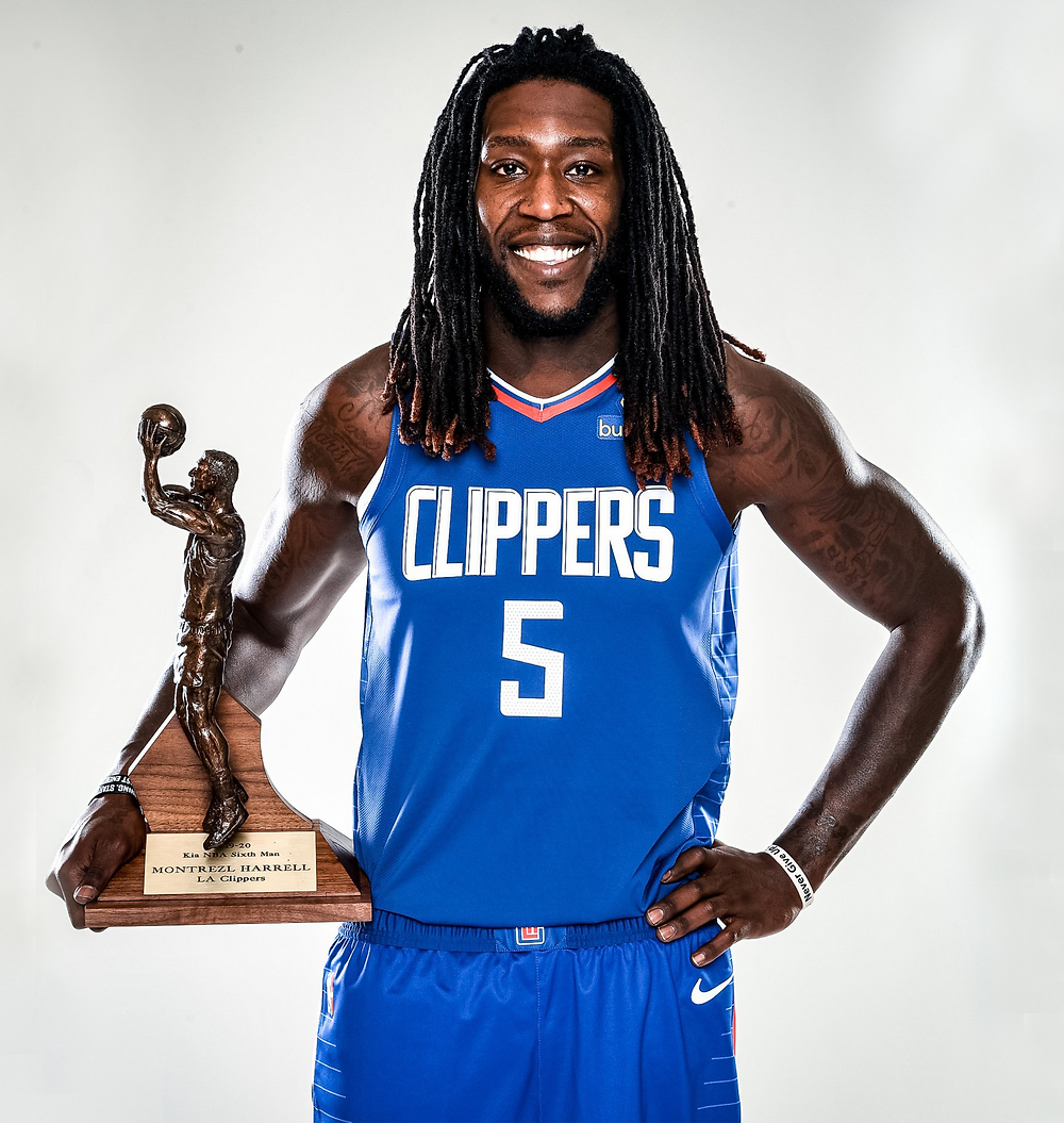 Montrezl Harrell Los Angeles Clippers nba Around the game
