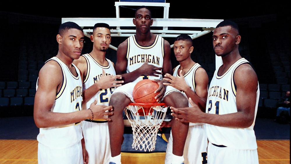 Fab Five nba around the game