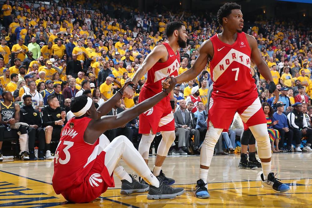 Pascal_Siakam_Fred_VanVleet_Kyle_Lowry_Toronto_Raptors_NBA_Around_the_Game