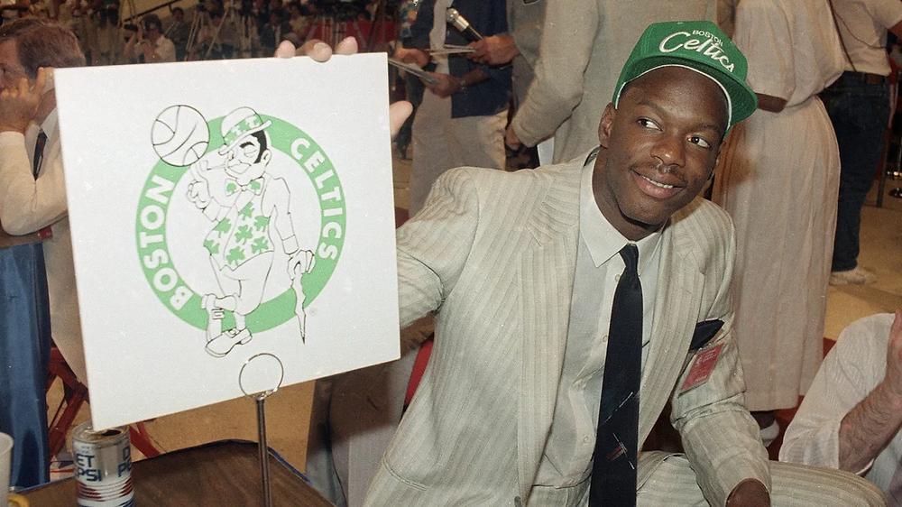 len bias Boston Celtics nba around the game