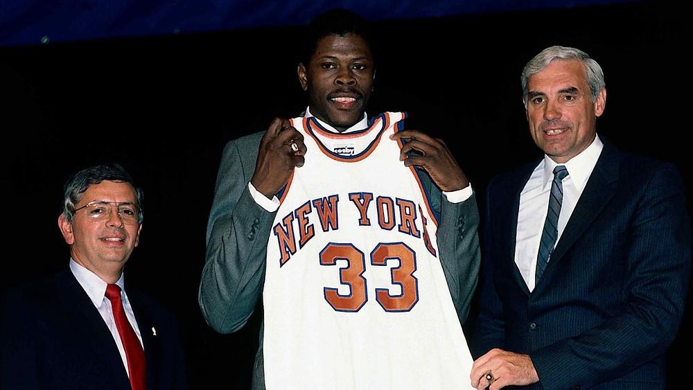 Patrick Ewing New York Knicks nba Around the game