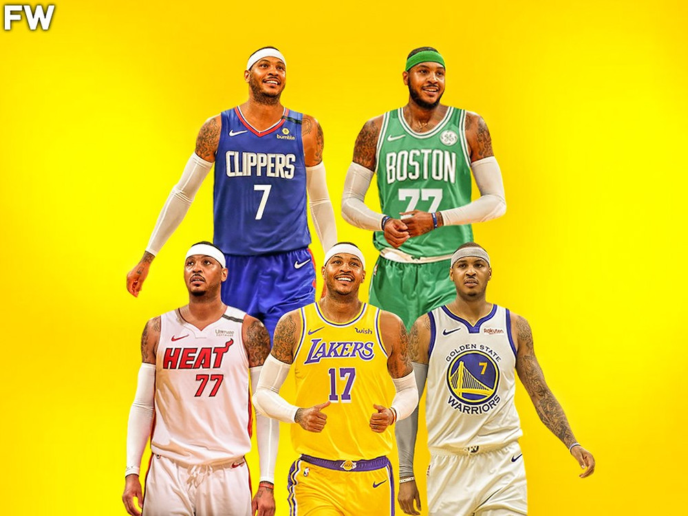 Carmelo Anthony nba Around the game