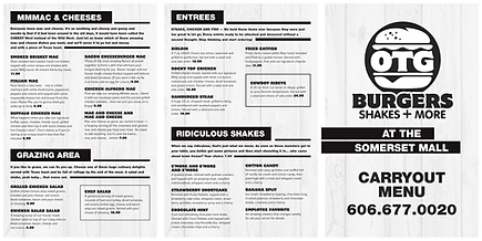 Old Town Grill Menu Starts - Pic 3-12-20