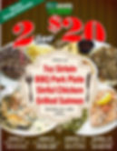 Old Town Grill 2 for $20 Mon. - Wed. 3-1