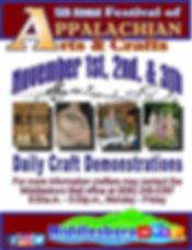 Festival of Appalachian Crafts 5.x 75 .j