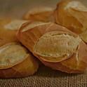 Pão francês com óleo de coco