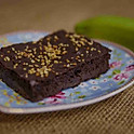 BROWNIE DE BIOMASSA DE BANANA