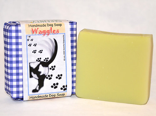 Waggles Dog Soap
