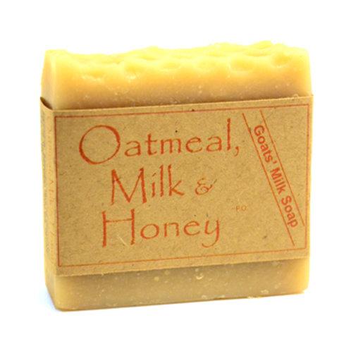 Oatmeal, Milk & Honey Goats' Milk Soap