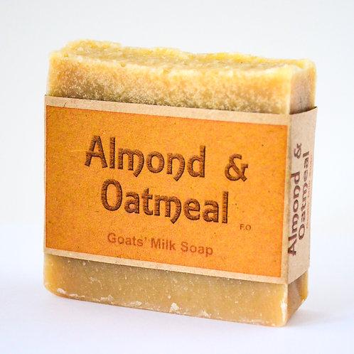 Almond & Oatmeal Goats' Milk Soap