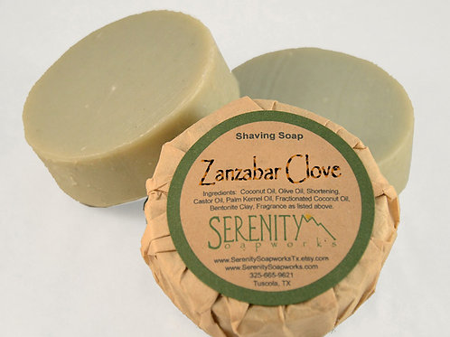 Zanzabar Clove Shaving Soap