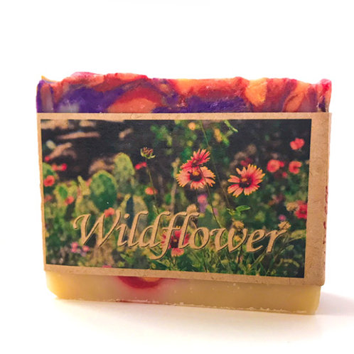Wildflower Goats' Milk Soap (OK Series)