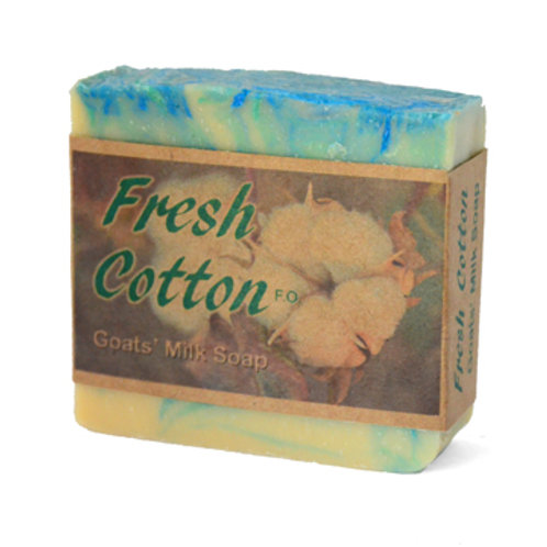 Cotton Goats' Milk Soap (OK series)