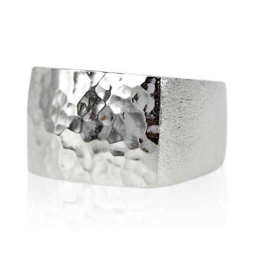 Sølv signet ring