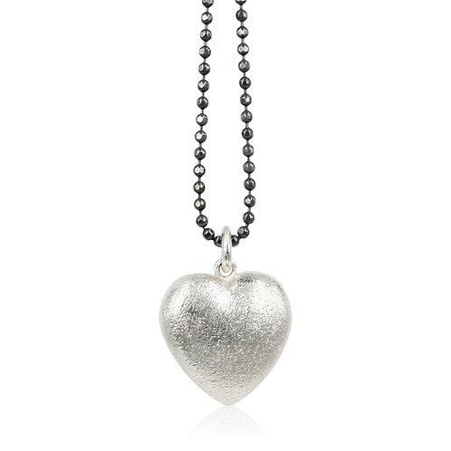 Love - Sølv hjerte vedhæng