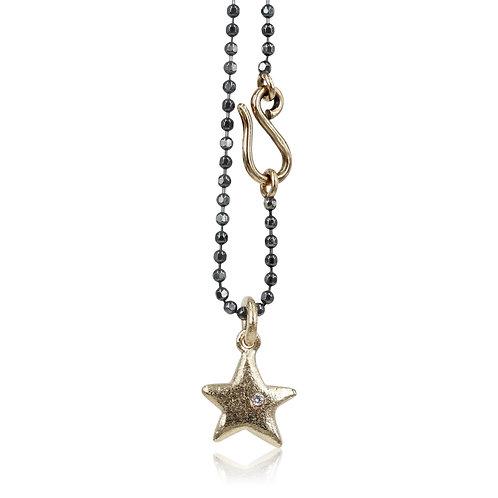 Lucky star - 14 kt. guldvedhæng