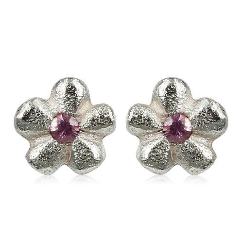 Fairytaile - Sølv øreringe med blomst