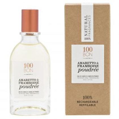 Amaretto & framboise poudrée 50ml