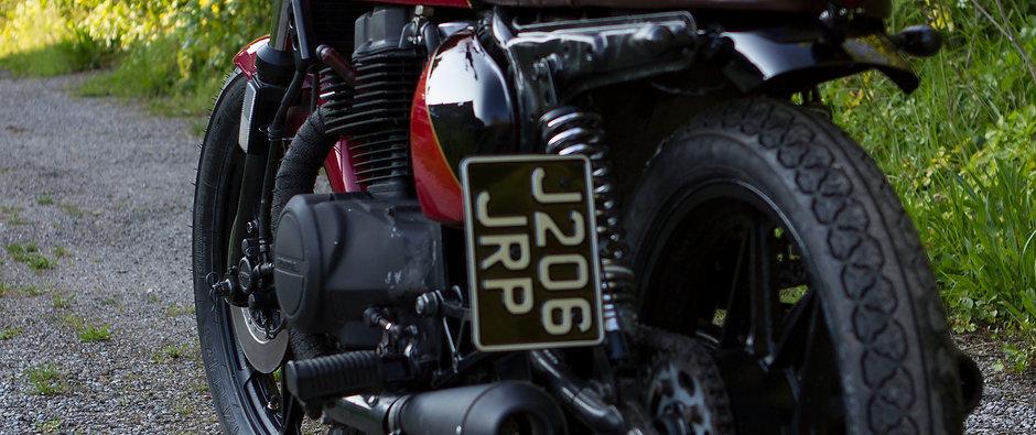 Honda CB450 Classic Caferacer