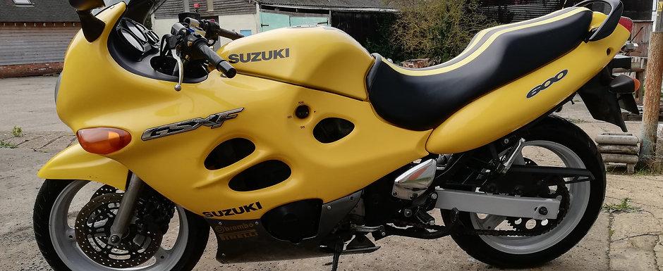 Suzuki GSX600F 1999