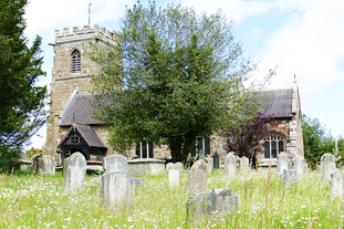 st michaels and all angels church Loppin
