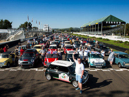 Minis at Goodwood - an Italian Job in a day
