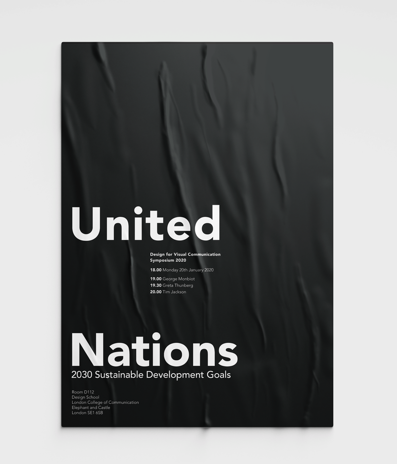 United Nations Event Poster