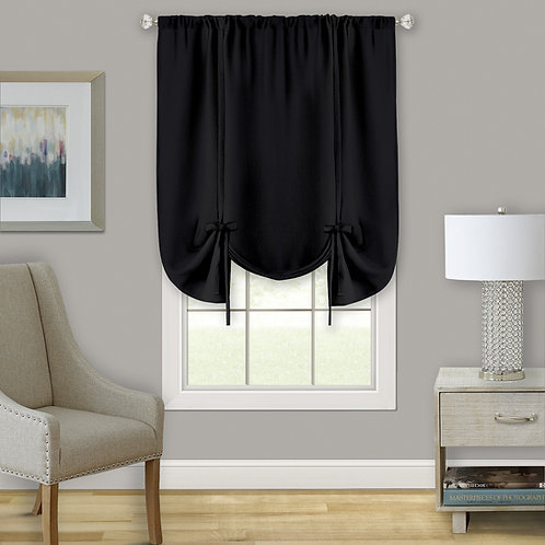 Darcy Window Curtain Tie Up Shade