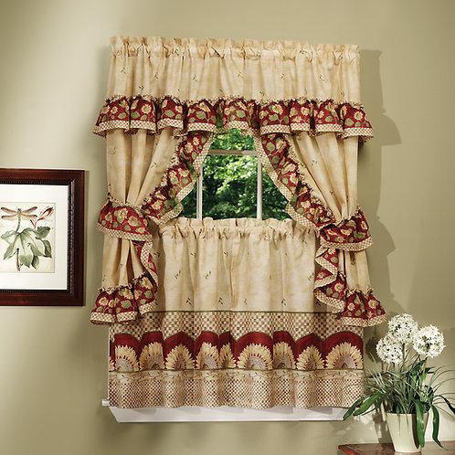 Sunflower Cottage Window Curtain Set