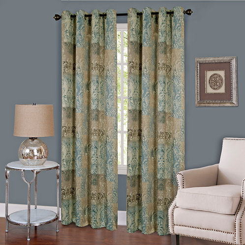 Vogue Grommet Window Curtain Panel