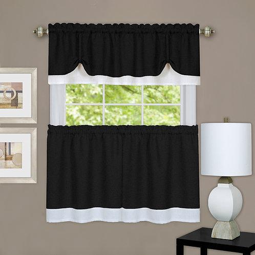 Darcy Window Curtain Tier and Valance Set