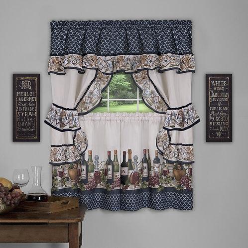 Chateau Cottage Window Curtain Set