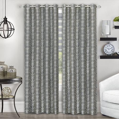 Python Grommet Window Curtain Panel